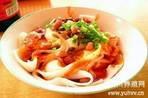 遵义刘二妈米皮的来源和做法-贵州特色小吃