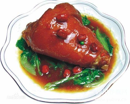 眉山东坡肘子的来源和做法-四川特色小吃