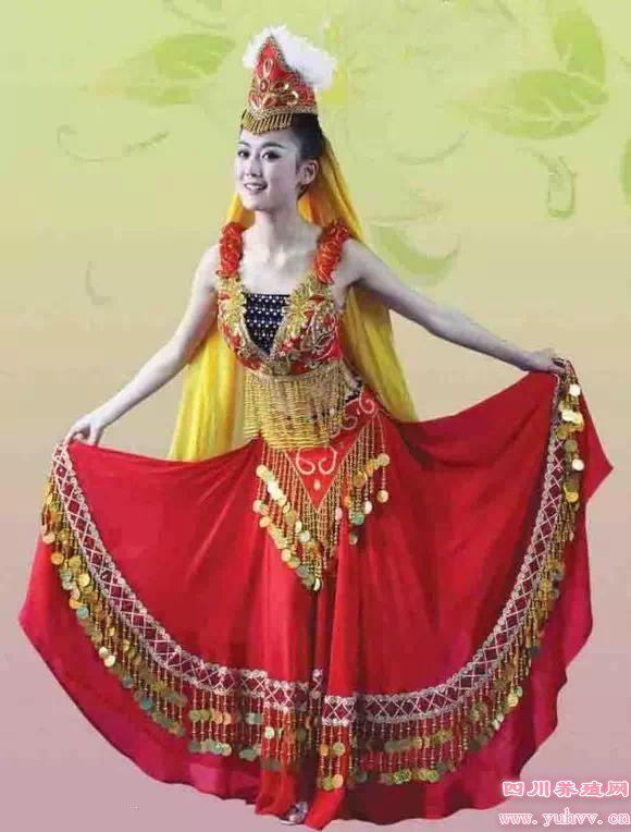 维吾尔族美女