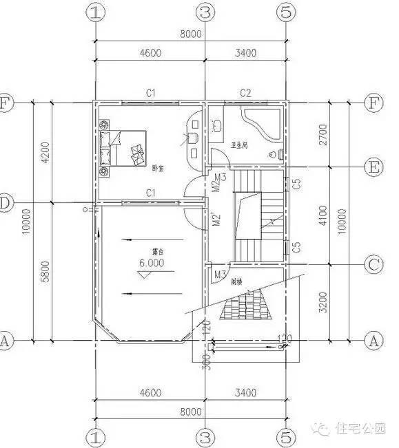 农村房屋设计图自建别墅户型设计推荐