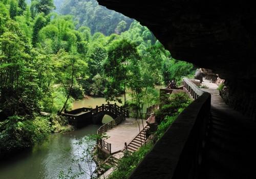沐川竹海景区国家AAA级景区