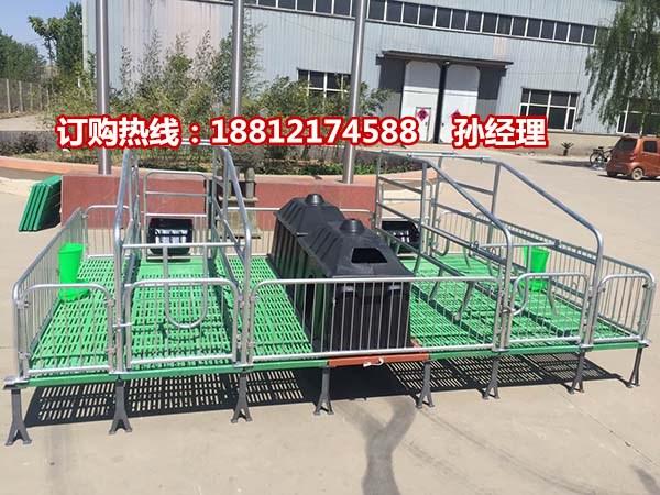 厂家供应母猪分娩栏尺寸  复合产床规格 猪用分娩栏批发