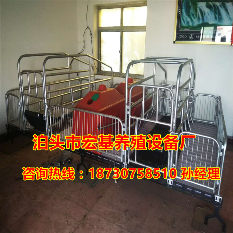 供应湖南猪用产仔栏厂家 母猪产床价格 养猪设备批发